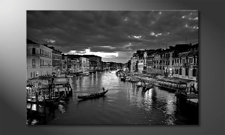 Modern art print Canale Grande