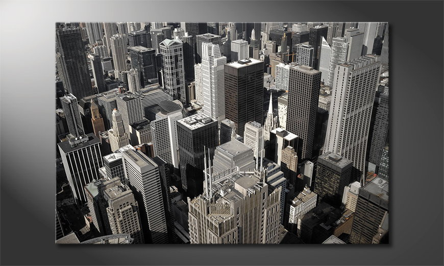 Modern-art-print-City-of-Chicago