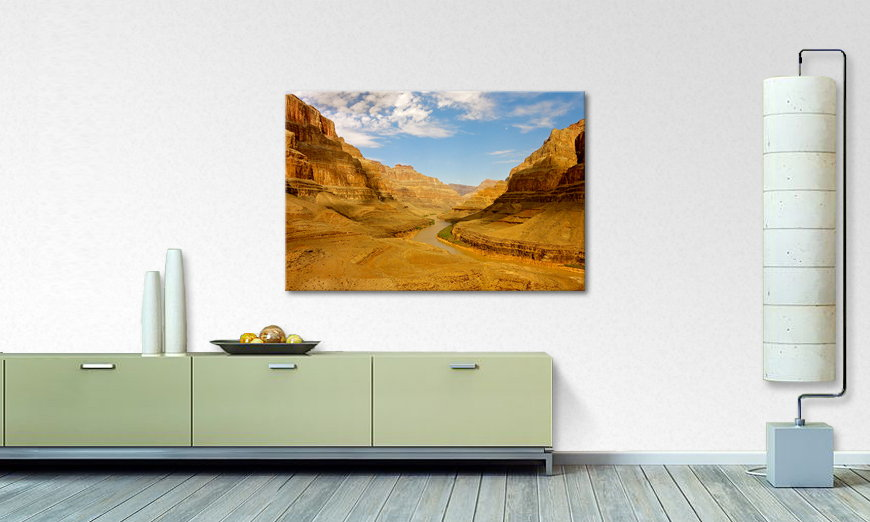 Modern art print Grand Canyon