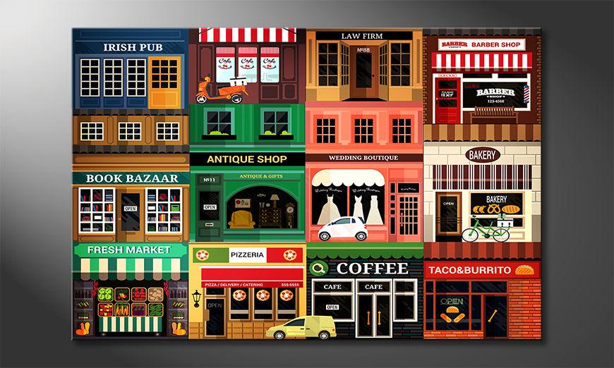 Modern art print Shops