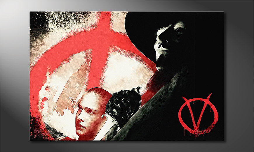 Modern art print Vendetta