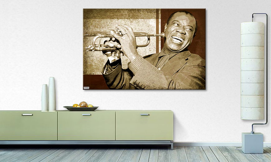 Modern canvas print Armstrong