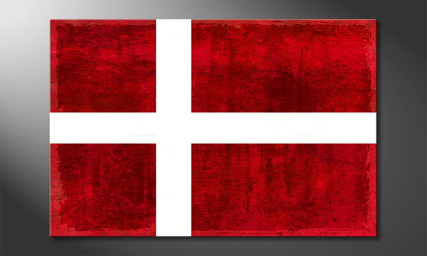 Modern canvas print Denmark