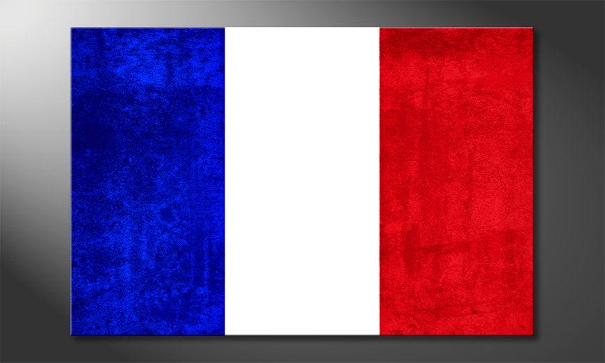 Modern canvas print France
