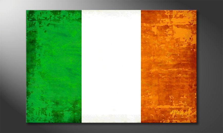 Modern canvas print Ireland