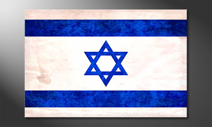Modern canvas print Israel