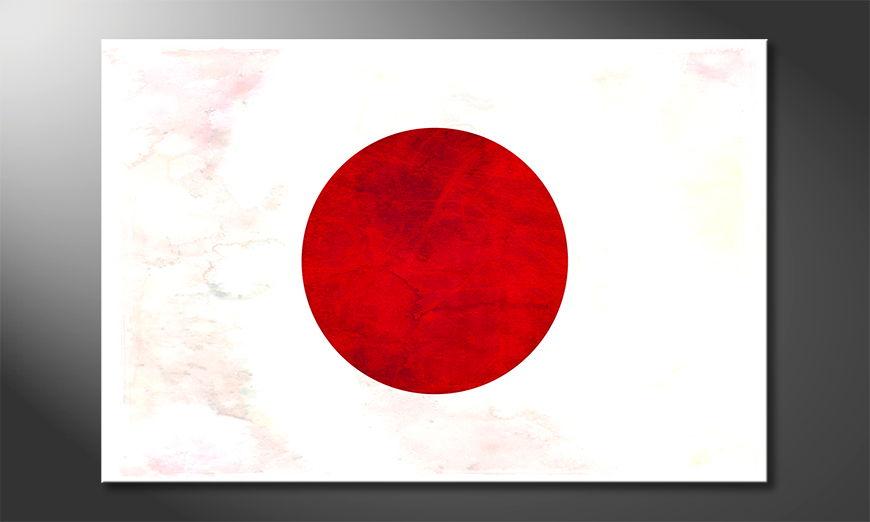 Modern canvas print Japan