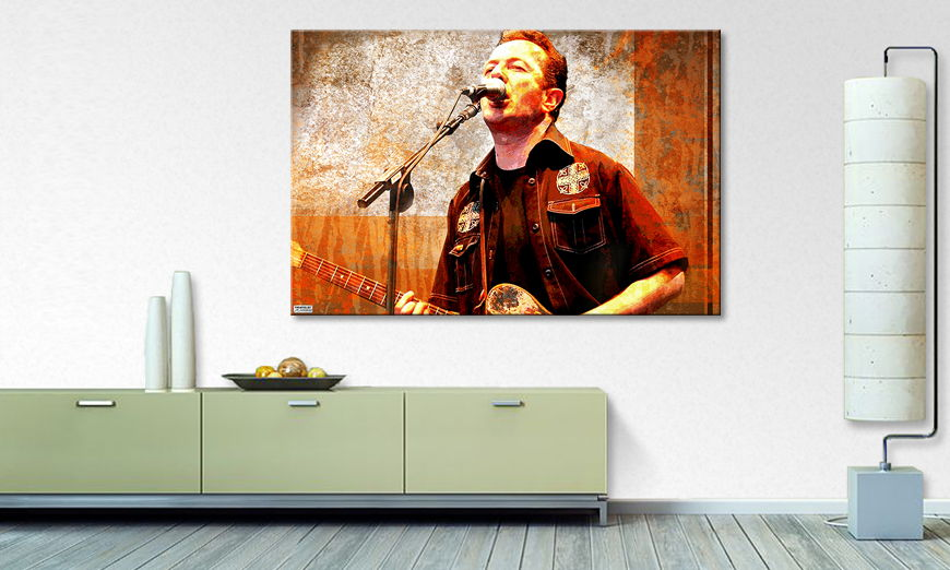 Modern canvas print Joe