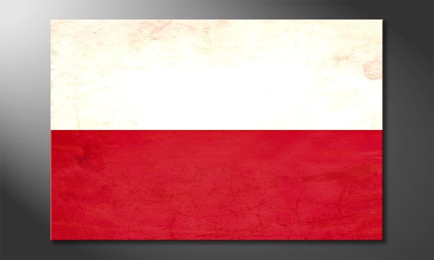 Modern canvas print Poland
