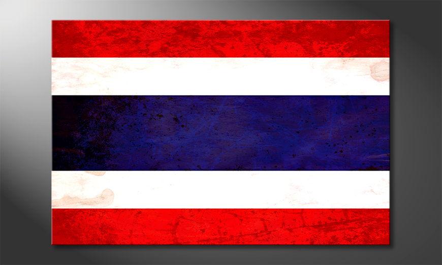 Modern canvas print Thailand