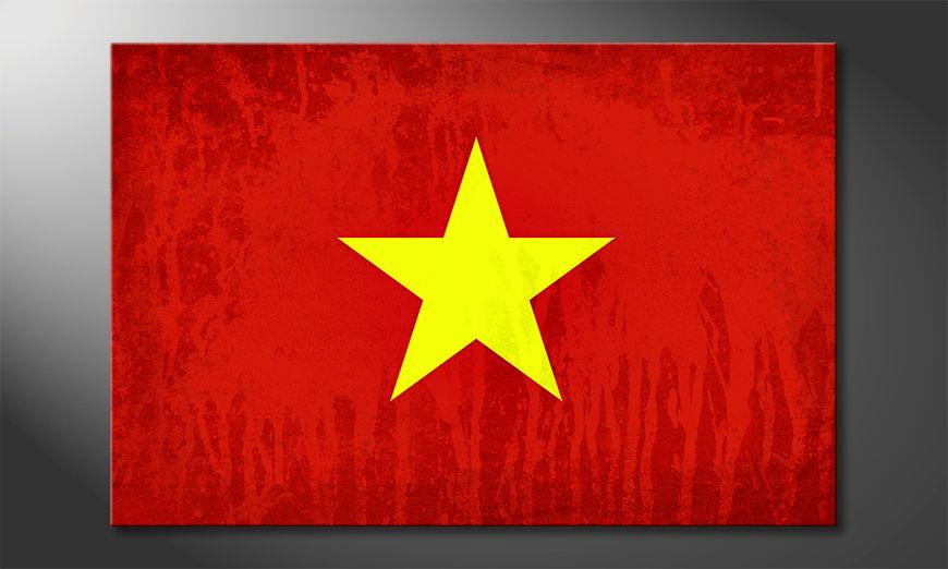 Modern canvas print Vietnam
