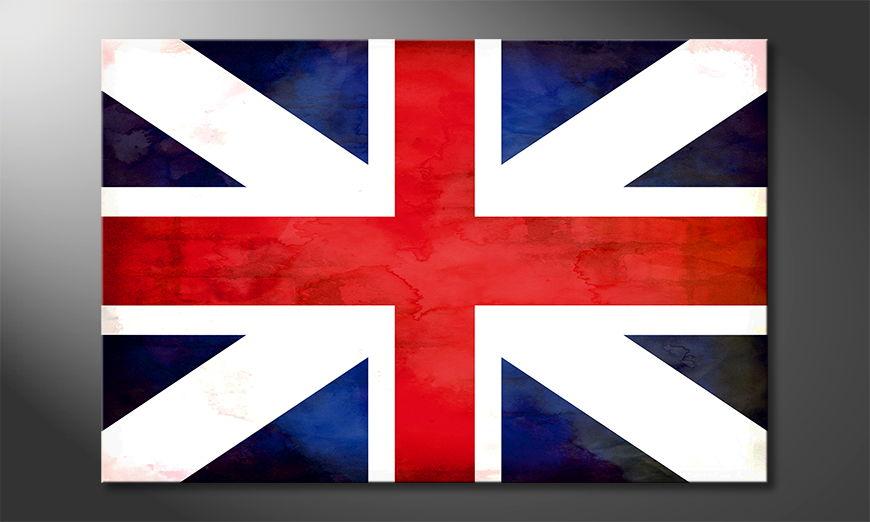 Modern flag of Union Jack
