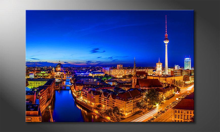 Modern print Berlin City