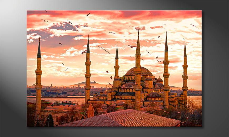 Modern print Blue Mosque