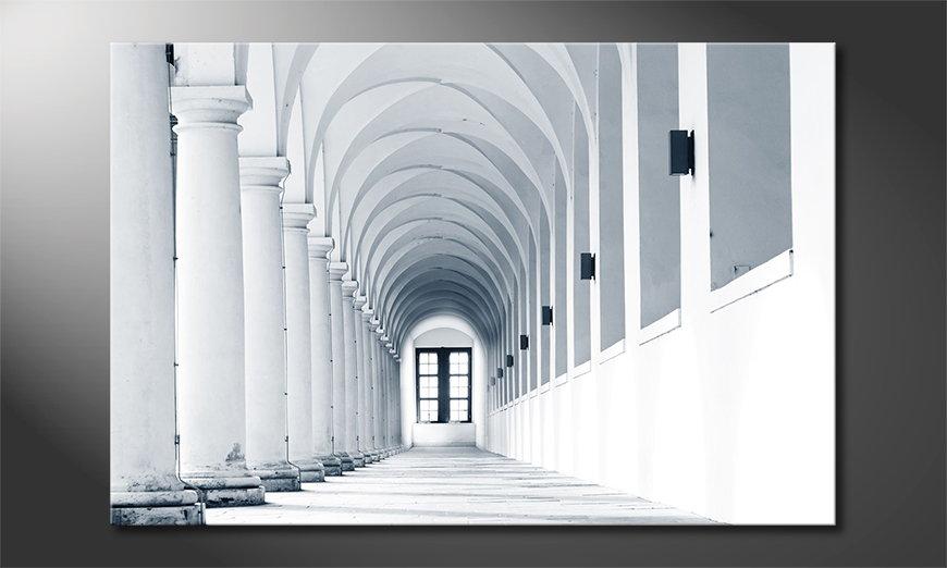 Modern print Columns Gallery