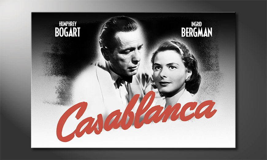 Popular art print Casablanca