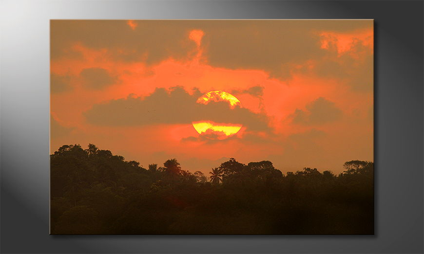 The-beautiful-art-print-Indian-Sundown