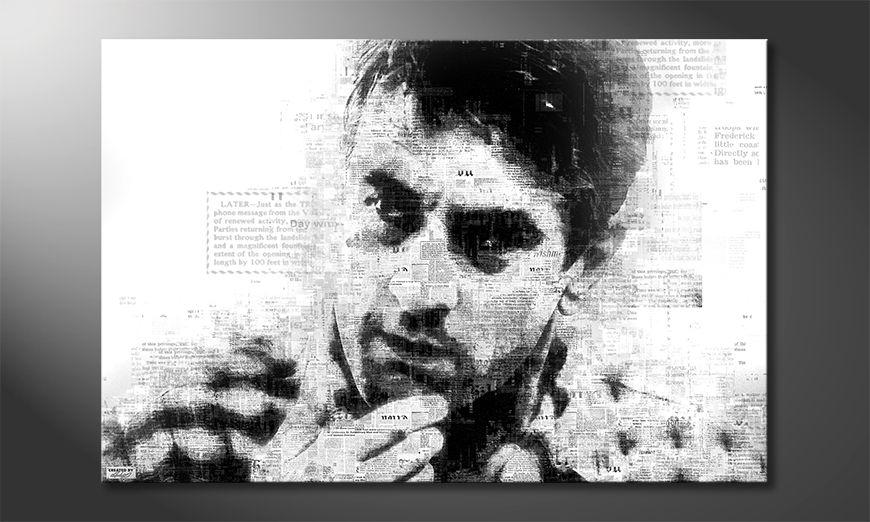 The modern art print De Niro