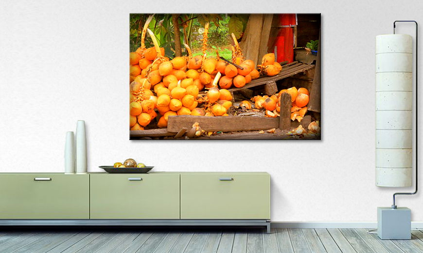 The modern art print Fruit Moment