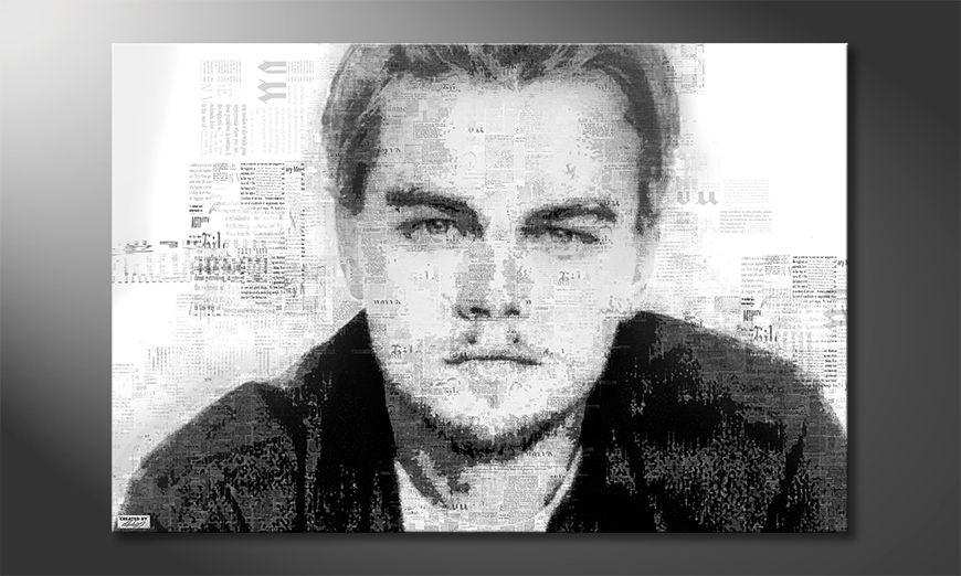 The modern art print Leonardo