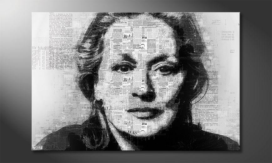 The modern art print Meryl