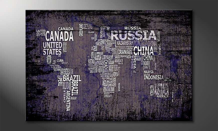 The-modern-art-print-Worldmap-9