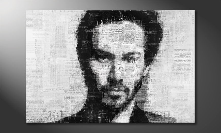 The modern canvas Keanu