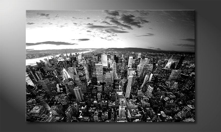 The nice painting New York Sky