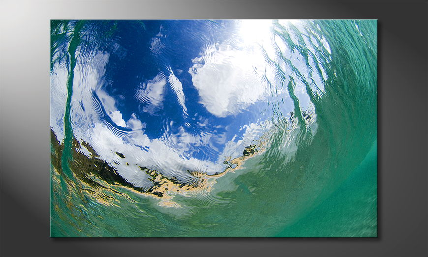 Underwater Sky Art Print