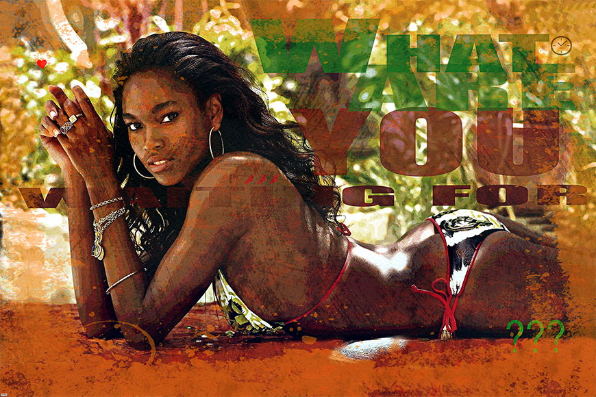 Photo-wallpaper African Beauty from 120x80cm