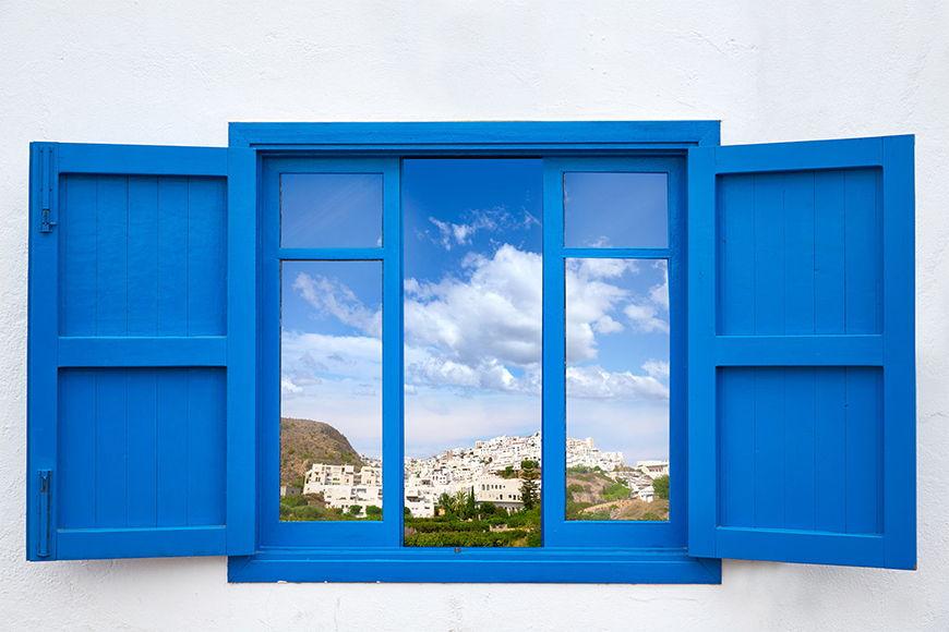 Photo-wallpaper Almeria View from 120x80cm