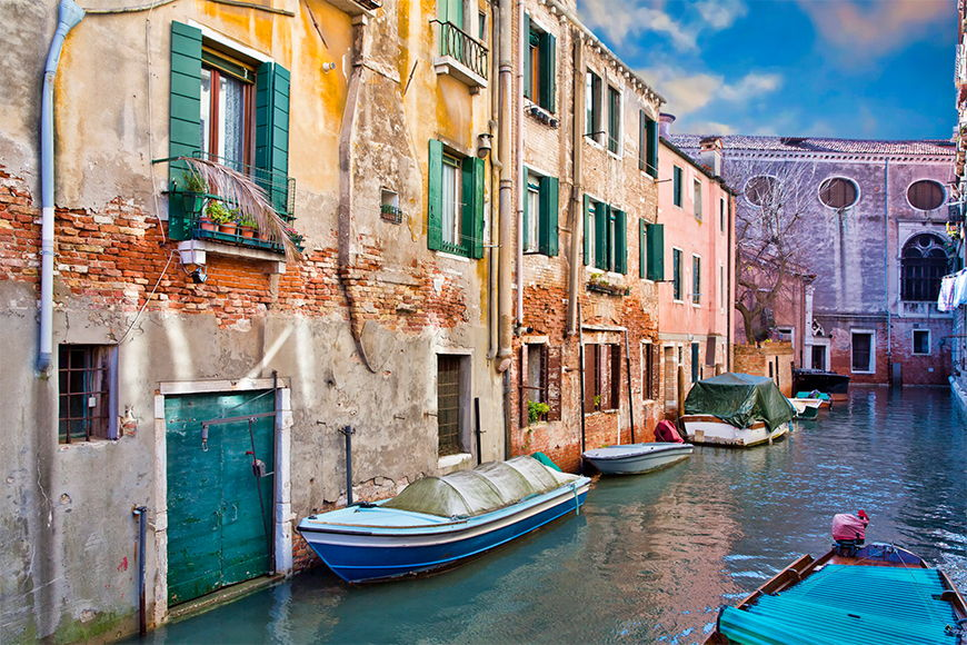 Photo wallpaper Beautiful venice from 120x80cm