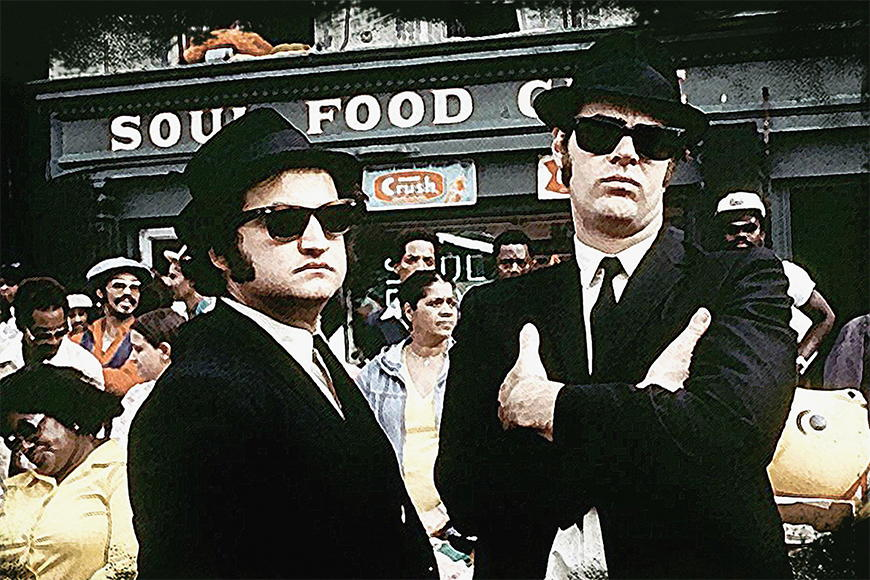 Photo Wallpaper Blues Brothers From 120x80cm
