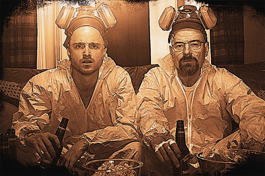 Photo-wallpaper Breaking Bad from 120x80cm