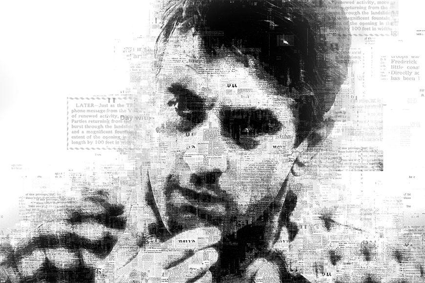 Photo-wallpaper De Niro from 120x80cm