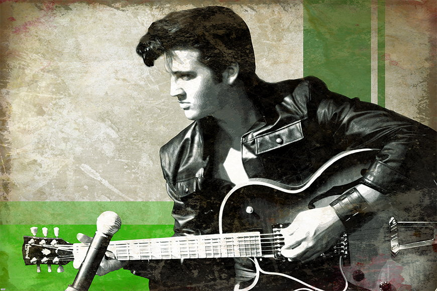 Photo-wallpaper Elvis from 120x80cm
