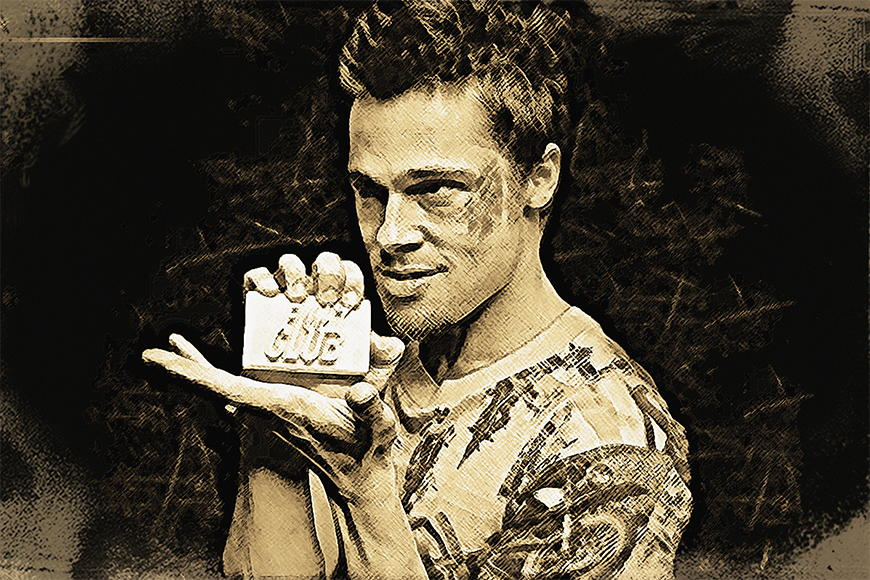 Photo-wallpaper Fight Club from 120x80cm