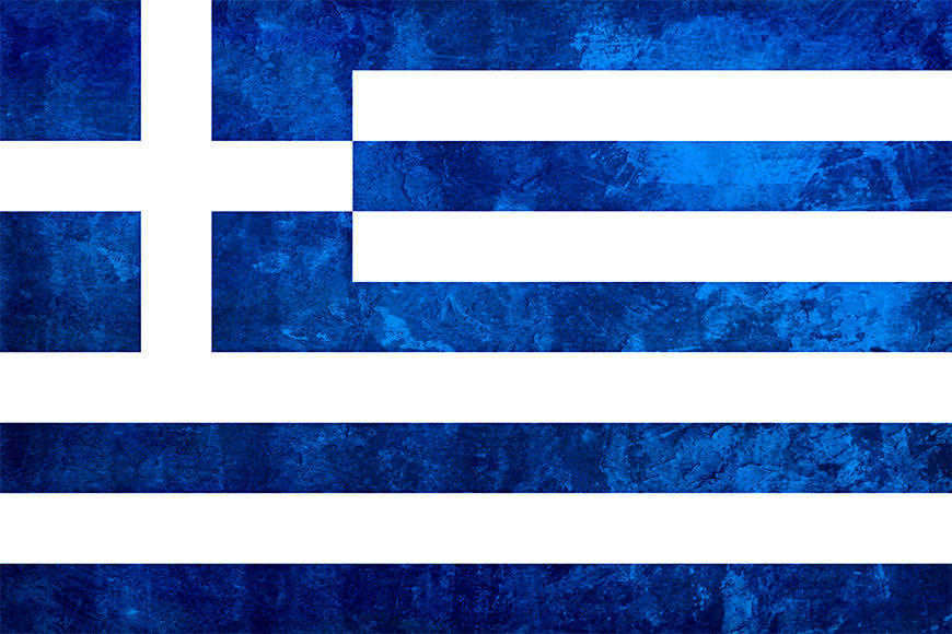 Photo-wallpaper Greece