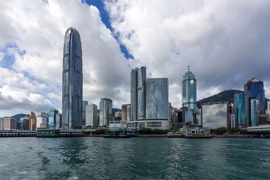 Photo-wallpaper Hongkong from 120x80cm