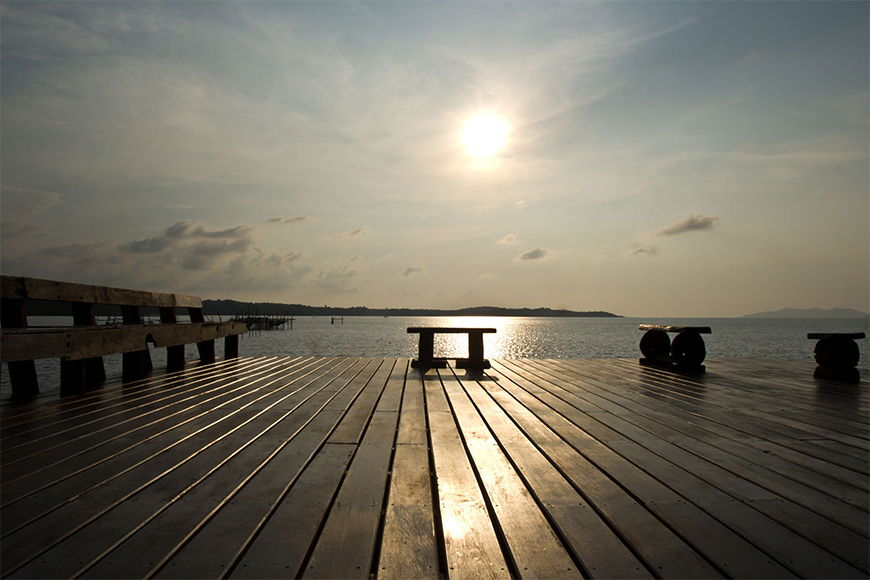 Photo-wallpaper Lakeshore from 120x80cm