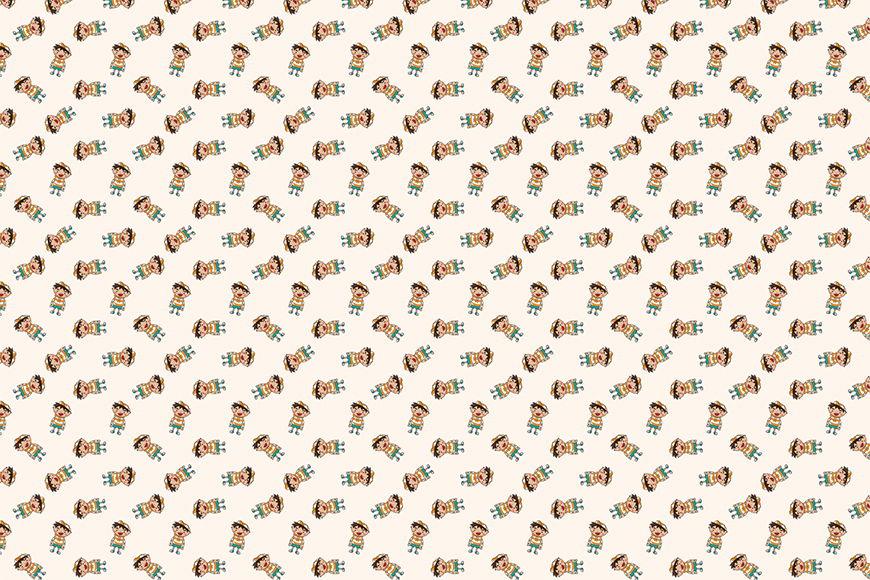 Photo-wallpaper Little Boy from 120x80cm