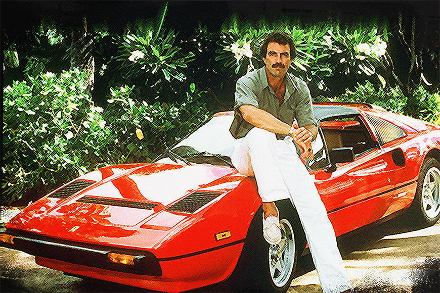 Photo wallpaper Magnum pi from 120x80cm