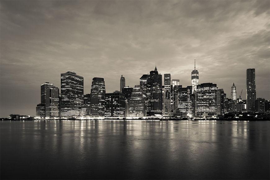 Photo-wallpaper Manhattan Night from 120x80cm