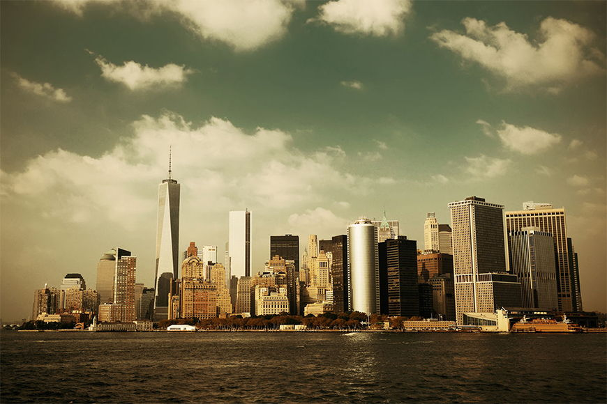 Photo wallpaper Manhattan Skyline from 120x80cm