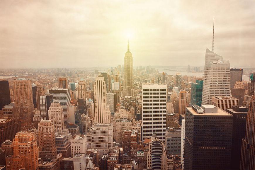 Photo-wallpaper New York Retro from 120x80cm