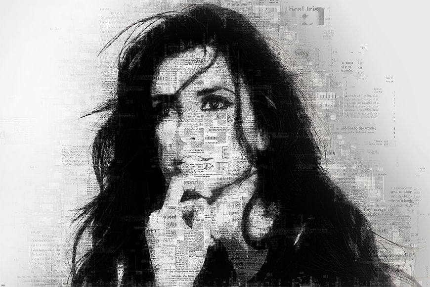 Photo-wallpaper Penelope from 120x80cm