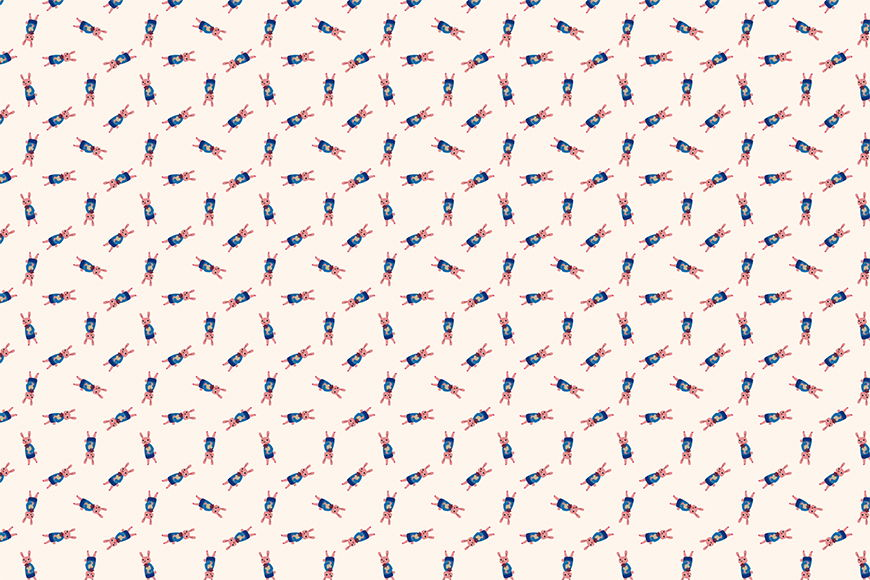 Photo-wallpaper Reni Rabbit from 120x80cm