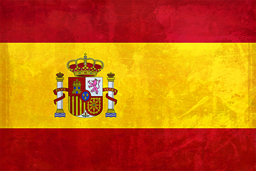 Photo wallpaper Spain