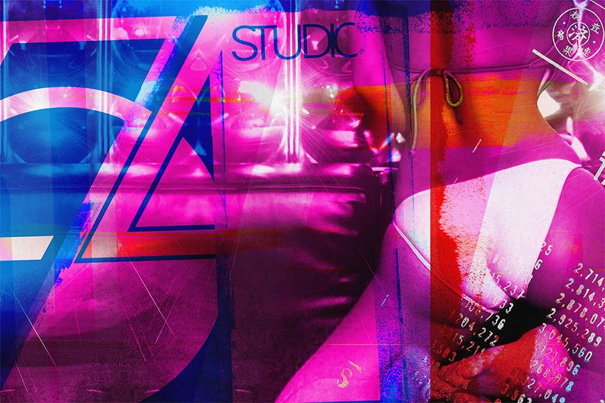 Photo-wallpaper Studio 54 from 120x80cm