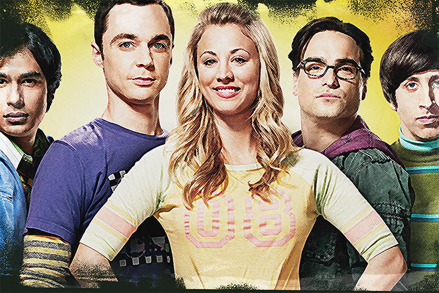 Photo wallpaper The Big Bang Theory from 120x80cm
